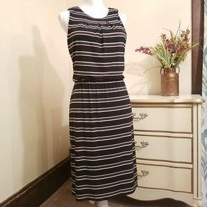 White House Black Market Sleeveless Midi Dress 12
